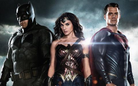 蝙蝠侠与超人:正义的黎明,亨利·卡维尔,本·阿弗莱克,加尔·加多,最佳电影,电影(水平)