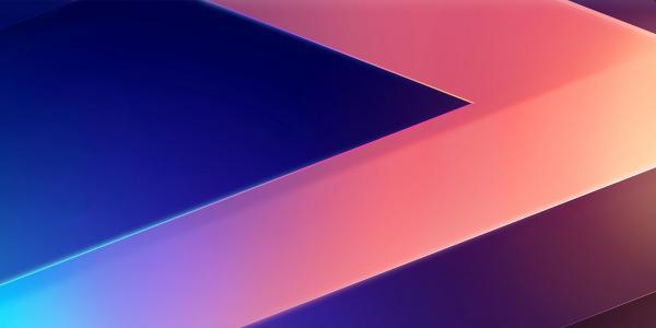 3D,多彩,几何,LG V30,股票,高清