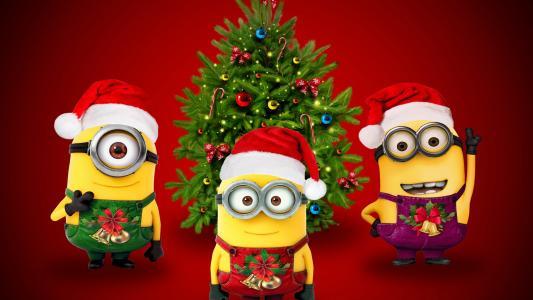 圣诞老人小黄人