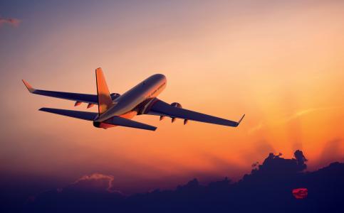飞机,飞机,航空旅行,4 k