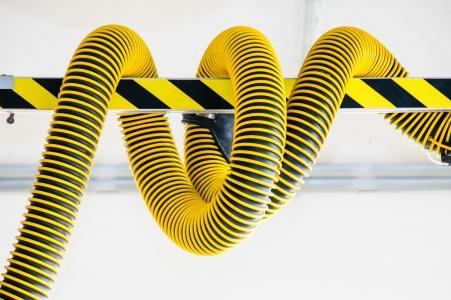 电缆,条纹,黄色,高清