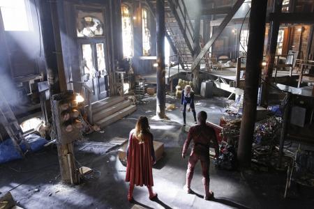 Flash,Supergirl,Crossover,Grant Gustin,Melissa Benoist,最佳电视剧(水平)