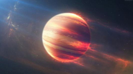 太空火星球,外行星,星球,太空,星星(水平)
