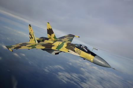 SU-35,攻击机,俄罗斯陆军(水平)