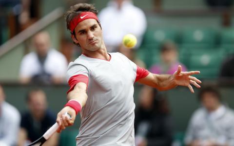 罗杰·费德勒瑞士网球选手