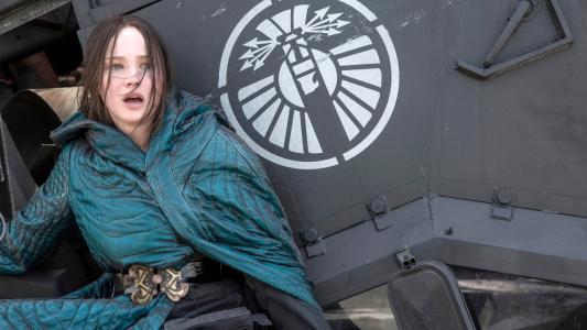 饥饿游戏Mockingjay第2部分Katniss
