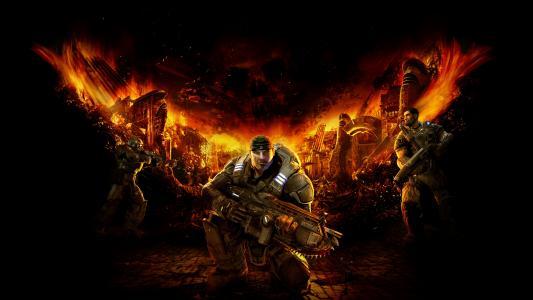 战争机器,终极版,Xbox,5K