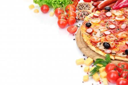 比萨,西红柿,5k(水平)