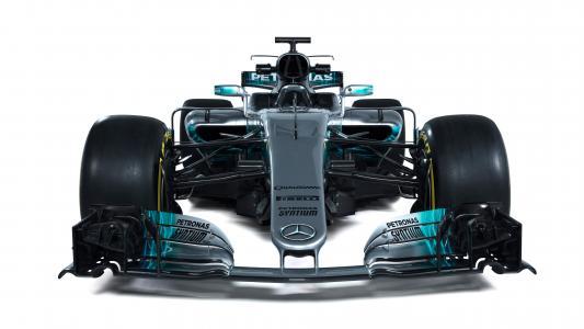 梅赛德斯AMG F1 W08 EQ电源,2017年,一级方程式赛车,4K