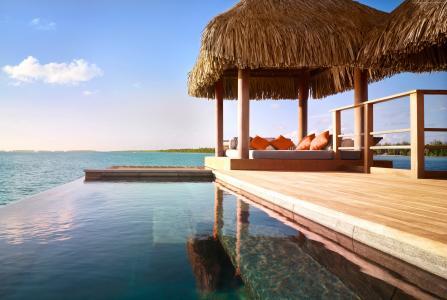 四季度假村,波拉波拉岛,最好的酒店游泳池2017,旅游,旅游,度假,度假,游泳池,海,海洋(水平)