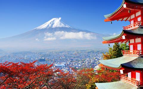 富士山日本最高的山