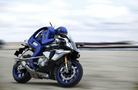 雅马哈Motobot,运动自行车,机器人,4K