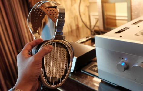 HiFiMAN HE-1000,CES 2015,耳机,耳机,Hi Fi,专业,审查,拆箱(水平)