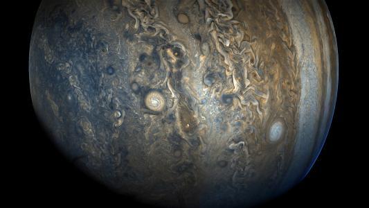 木星,南半球,朱诺航天器,美国国家航空航天局,4 k