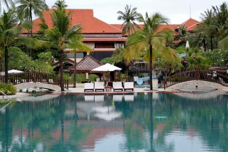 乌布空中花园,巴厘岛,印度尼西亚,最好的酒店游泳池2017年,旅游,旅游,度假,度假,游泳池(水平)