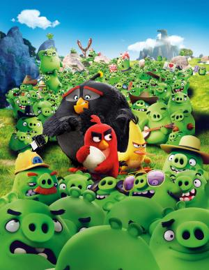 愤怒的小鸟,红色,查克,炸弹,2016年电影