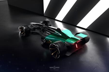 雷诺RS 2027视觉,概念,4k(水平)