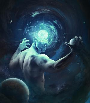 人类,行星,星星,空间,高清