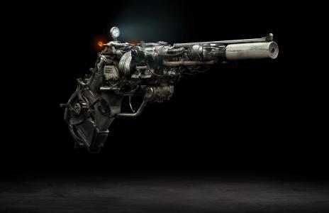 手枪,手枪,安全,驱动器,4 k