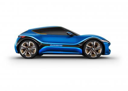 NanoFlowcell QUANTiNO,概念,混合动力,两厢车,蓝色(水平)