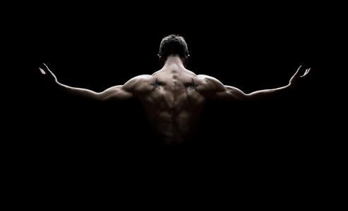 健美运动员,肌肉,5K