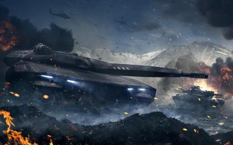 装甲战未来坦克