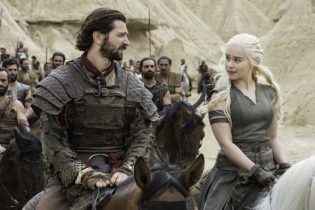 Daario Naharis,丹妮莉丝·坦格利安,第六季,我的血之血,权力的游戏