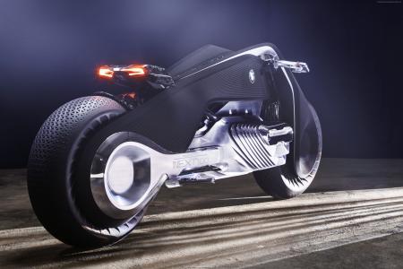 宝马Motorrad VISION NEXT 100,概念,CES 2017(水平)