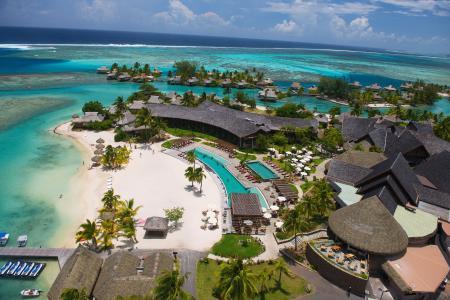 洲际莫雷阿度假村,世界上最好的海滩,旅游,旅游,度假,度假,游泳池,沙滩(水平)