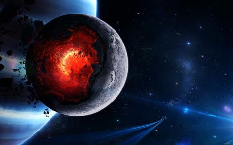 行星核心崩溃