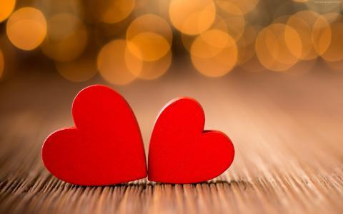 爱的形象,心,高清(水平)