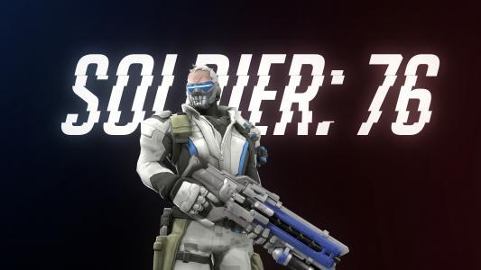 士兵76,守望先锋,4K