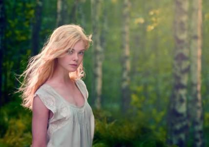 Elle Fanning,2017年拍摄,HD,5K