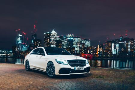 Mercedes-AMG S 63 4MATIC+, 2018, 4K