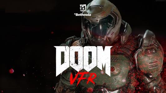 Doom VFR,4k,VR,E3 2017(水平)