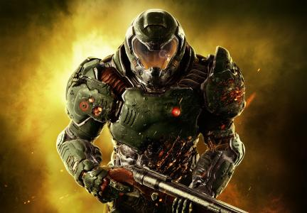Doom Marine,Doom,PC,PS4,Xbox