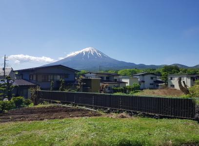 日本富士山唯美风光