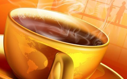 温暖的咖啡