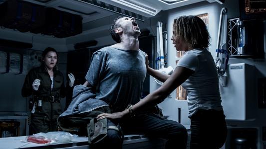 外星人:盟约,卡门Ejogo,艾米Seimetz,胸部,最好的电影(水平)