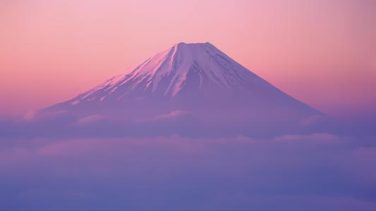 富士山,Mac OS X的狮子,高清