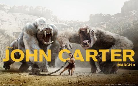 约翰·卡特2012年电影