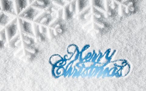 圣诞快乐雪