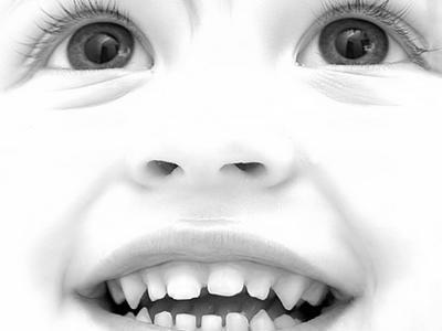 可爱的宝贝眼睛
