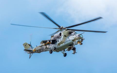 米尔米24直升机武装直升机