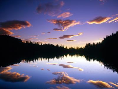 反射华盛顿湖