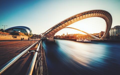 英国盖茨黑德千禧桥