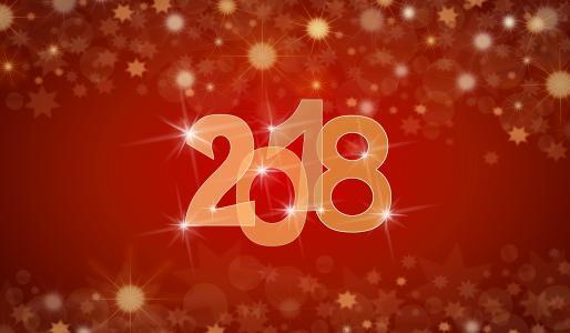 新年快乐,2018年,5K