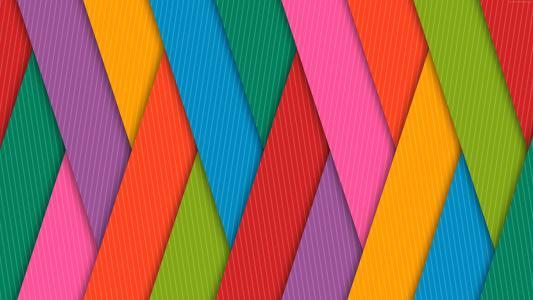 七彩条纹,4k,5k壁纸,安卓壁纸(horizontal)