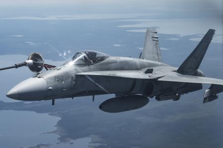 麦克唐纳道格拉斯F / A-18大黄蜂,战斗机,超音速喷气机,美国海军,4K