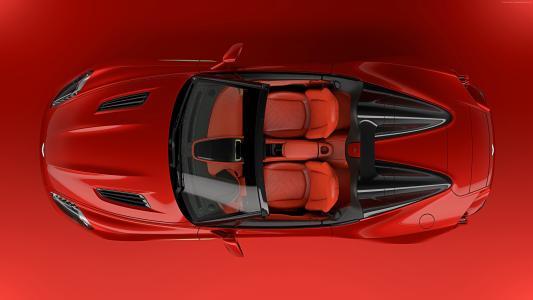 阿斯顿·马丁Vanquish Zagato,2018年汽车,4k(水平)